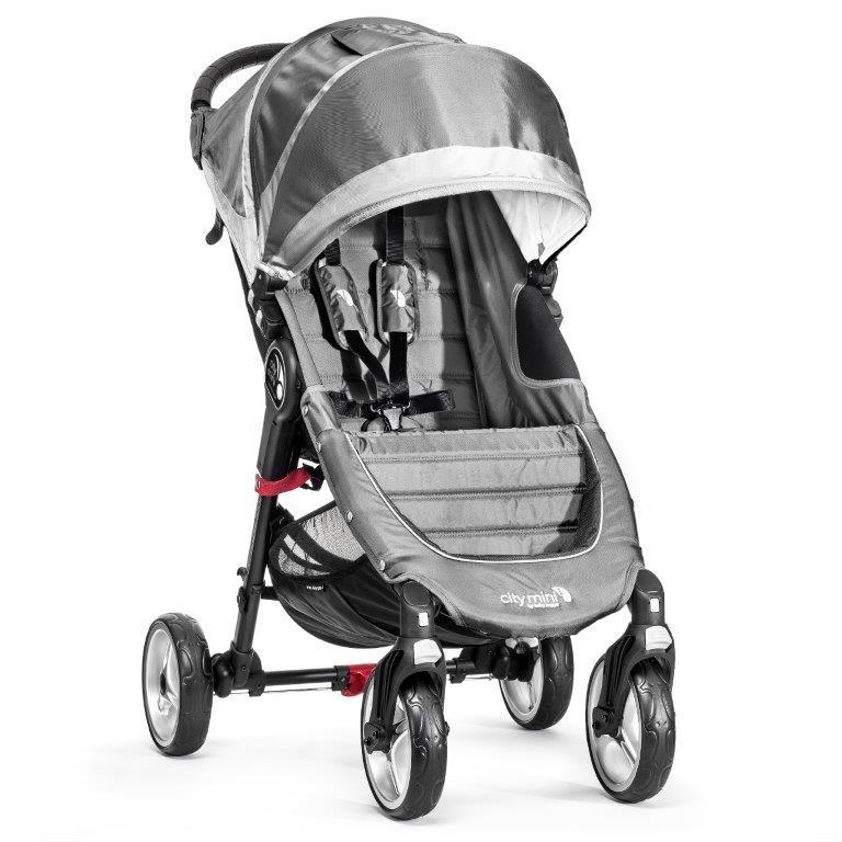 a10a644612b Baby Jogger jalutuskäru City Mini 4W Steel Grey