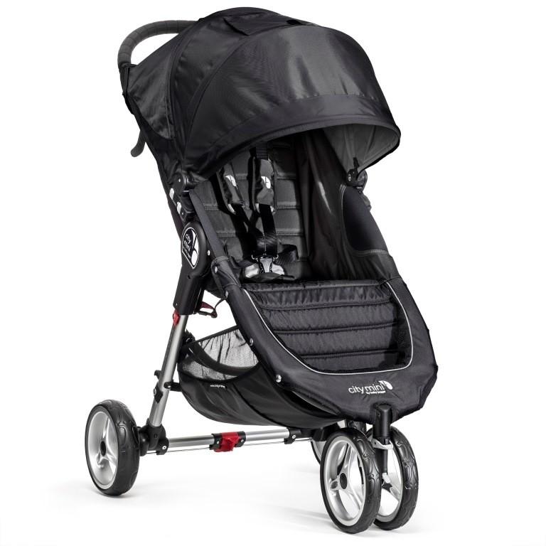 e332deb64f5 Baby Jogger jalutuskäru City Mini Black/Grey