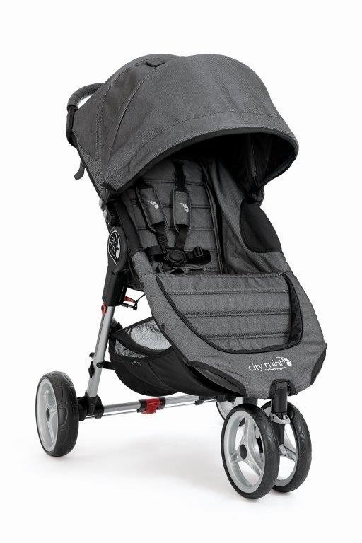 ed09c9452ae Baby Jogger jalutuskäru City Mini Charcoal