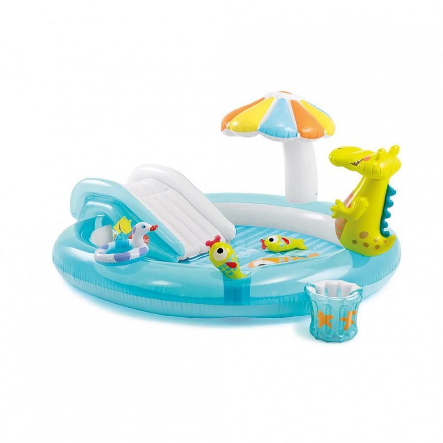 T ispuhutav bassein veekeskus alligaator for Piscinas toy