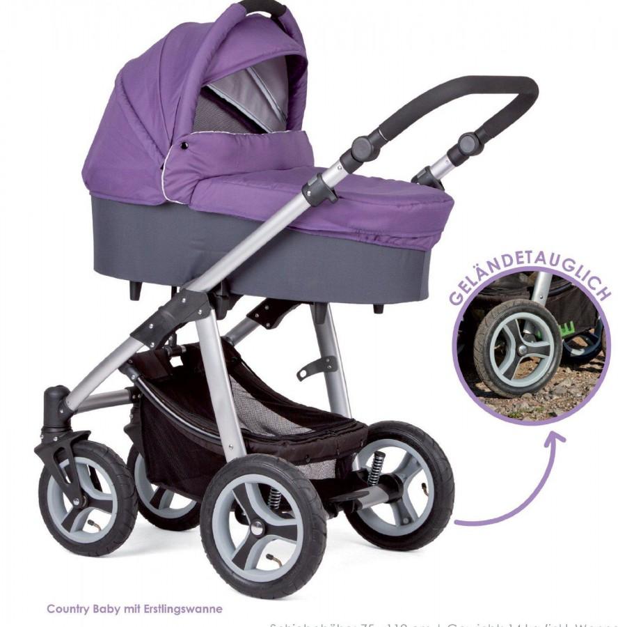 646f063ac93 Vanker-jalutuskäru Country Baby violet