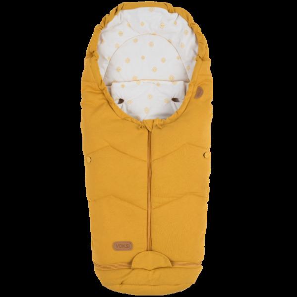 Voksi soojakott turvahälli ja vankrisse Move Light Golden Yellow 2020