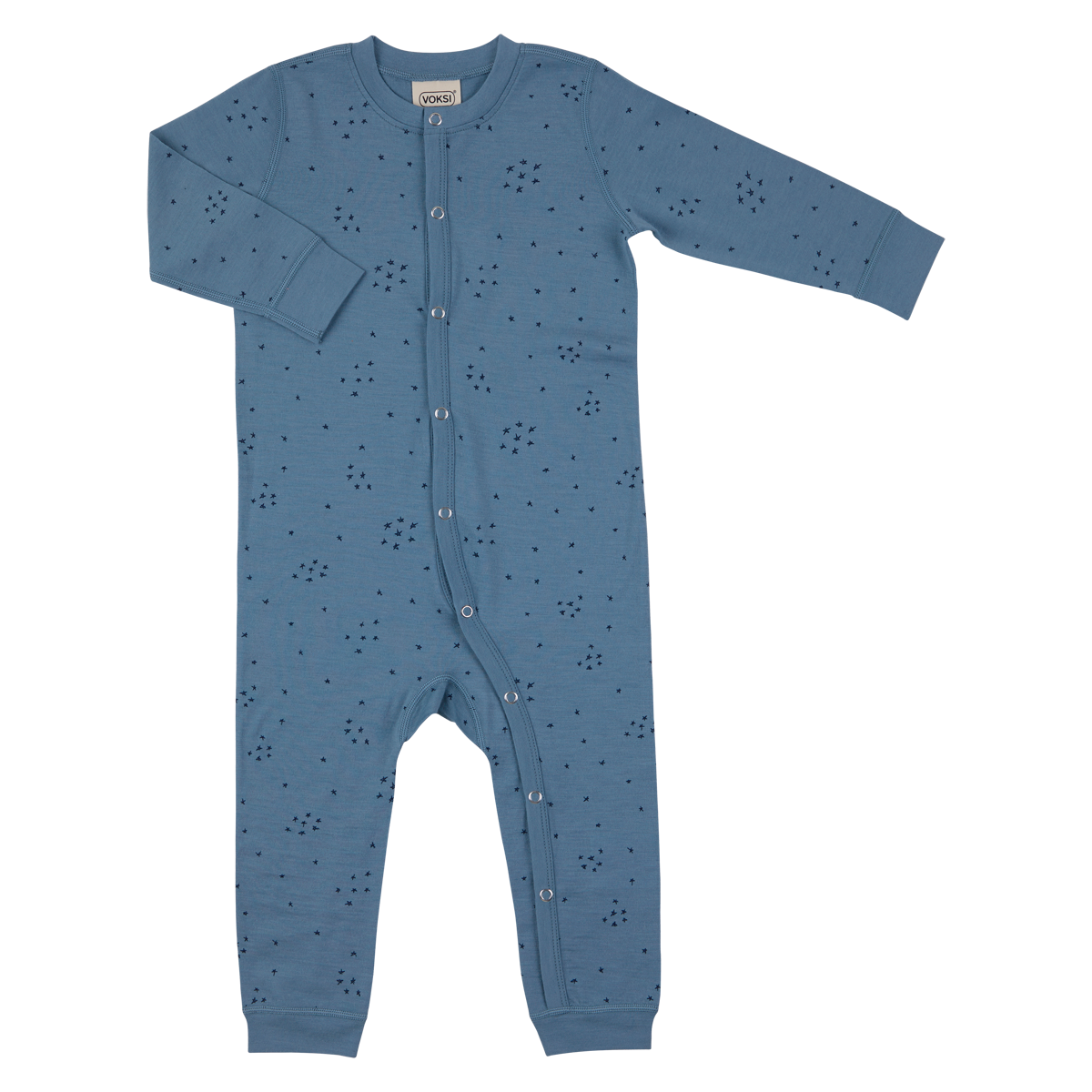 Voksi meriinovillane jumpsuit Blue Star