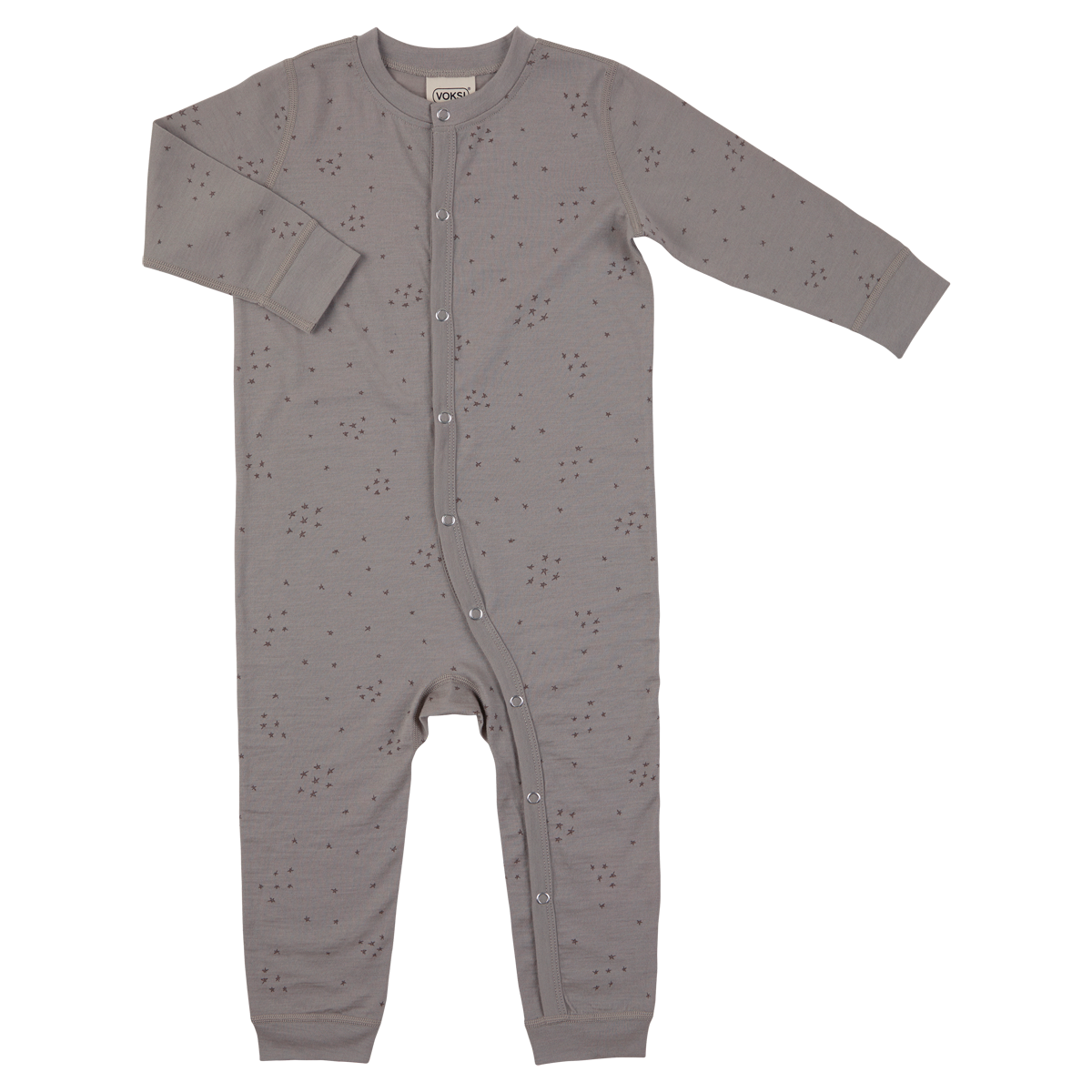 Voksi  meriinovillane jumpsuit  Walnut Star