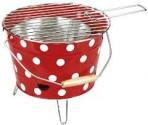 Garden grill punane