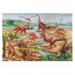 Melissa & Doug põrandapusle Dinosauruseed