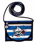 Kapten Sharky kaelaskantav rahakott triibuline