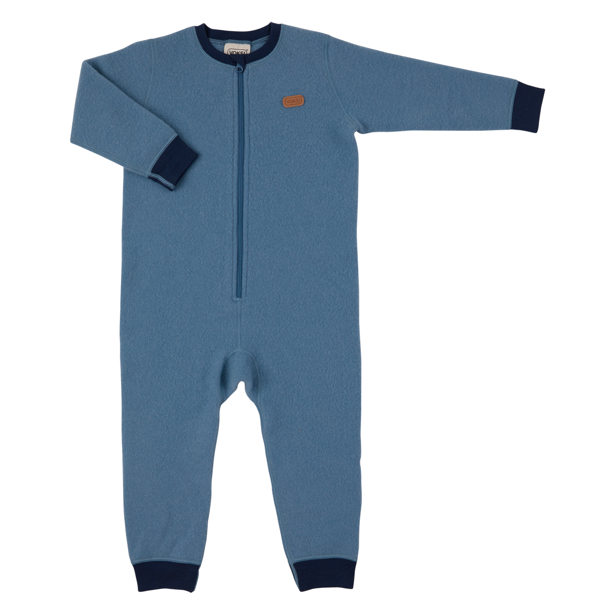 Voksi  meriinovillane jumpsuit  Double Fleece Light Blue