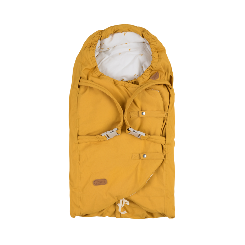 Voksi soojakott - kookon Carry Golden Yellow Flying