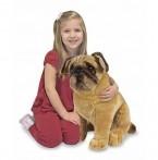 Melissa & Doug suur pehme koer Mops