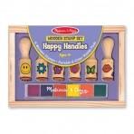 Melissa & Doug puidust templite komplekt Õnnelikud käepidemed