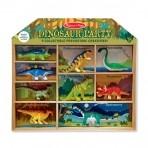 Melissa & Doug  mängukomplekt Dinosauruste pidu