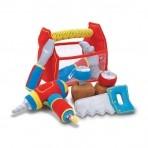 Melissa & Doug Pehme tööriistakast väikelapsele
