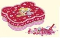 Printsess Lillifee 600 pärlit liblikakujulises karbis