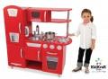 KidKraft mänguköök Retro-punane