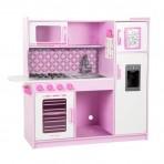 Melissa & Doug puidust  Peakoka roosa mänguköök