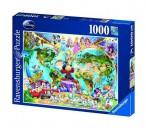 puzzle 1000 tk. Disney