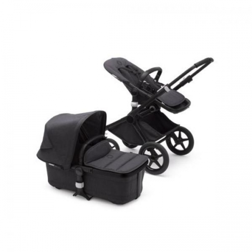 Bugaboo Fox2 2in1 vankrikomplekt  Mineral Complite Black Washed Black