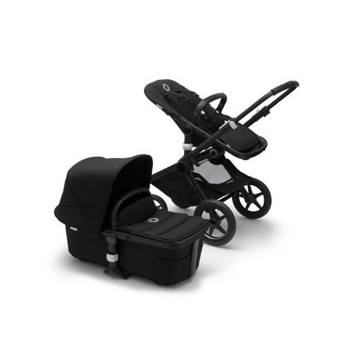 Bugaboo Fox2 2in1 vankrikomplekt  Black Black