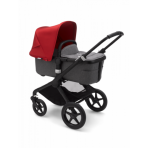 Bugaboo Fox2 2in1 vankrikomplekt  Black Grey Melange Red