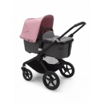 Bugaboo Fox2 2in1 vankrikomplekt  Black Grey Melange Soft Pink