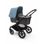 Bugaboo Fox2 2in1 vankrikomplekt  Black Grey Melange Vapor Blue