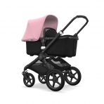 Bugaboo Fox2 2in1 vankrikomplekt  Black Black Soft Pink