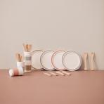 Kids Concept puidust  nukunõudekomplekt neljale 20 osaline