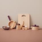 Kids Concept puidust nukunõude köögikomplekt Bistro 11 osaline