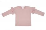 Wooly Organic puuvillane pikkade varrukatega satsiga särk Pink