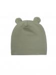 Wooly Organic puuvillane müts jänesekõrv Sage Green