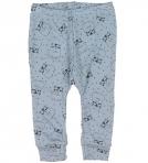 Fixoni siidivillased püksid helesinine kassike