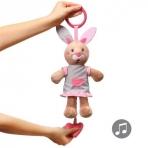 BabyOno pehme muusikalne mänguasi Jänes Julia
