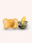 BIBS lutt COUTURE Honey Bee+Olive   0-6 kuud  2tk/pakis