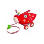 Baby Charms ratastel järelveetav mänguasi Lepatriinu LÕPUMÜÜK
