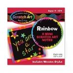 Rainbow Minipaber kunstilisteks märkusteks