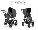 ABC Design vankrikomplekt 2in1 Salsa 4 Air Asphalt Diamont Edition