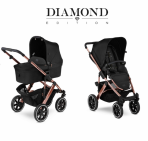 ABC Design vankrikomplekt 2in1 Salsa 4 Air Rose Gold Diamont Edition