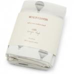 Konges Slojd organic muslin mähkimislinad 65x65cm 3tk Parachute creme