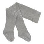 GoBabyGo libisemiskindlad stopperitega (põlv+tald) sukkpüksid Grey Melange