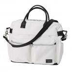 Emmaljunga beebitarvete kott Travel White Leatherette