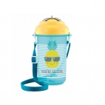 Canpol Babies tass klappkaane ja silikoonkõrrega So Cool! 400ml kollane