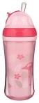Canpol Babies joogitops silikoonist kõrrega Flamingo 260ml