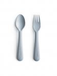 Mushie kahvel ja lusikas Cloud