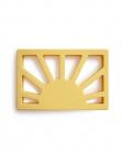 Mushie närimisrõngas Sun Muted Yellow