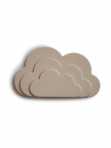 Mushie närimisrõngas Cloud Grey