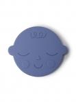 Mushie närimisrõngas Face Blueberry