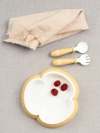 BabyBjörn sööginõude komplekt 2tk Powder Yellow