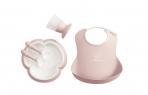 BabyBjörn sööginõude komplekt Dinner Powder Pink