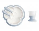 BabyBjörn sööginõude komplekt Feeding Powder Blue